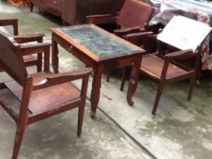 salon cóc gỗ cẩm lai