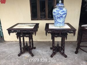 gl- Đôn kiểu pháp 2 tầng hàng đẹp - gỗ gụ - Kt : cao 70 rộng 86 cm - alo 0979 839 286 - http://dogom