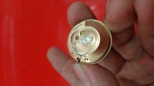 Đồng hồ benrus vỏ bọc vàng hồng xưa chính hãng