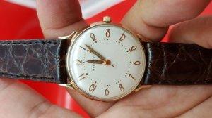 Đồng hồ hamilton nữ bọc vàng toàn thân xưa chính hãng