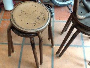 9 ghế sắt thời bao cấp