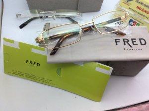 kính FRED mầu vàng nguyên hộp sổ thẻ , hàng chính hãng của Pháp sản xuất kính có khung , mới 100%