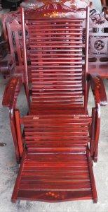 Ghế lười gỗ căm xe cũ