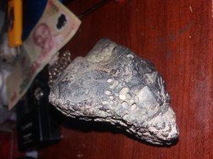Cần chuyển nhượng 1 cục đá cực hiếm bị tác dụng bởi từ trường nam châm - Meteriot iron