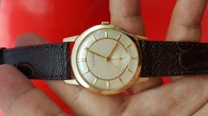 Đồng hồ LeCoultre vỏ vàng xưa chính hãng Thụy Sĩ