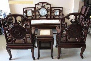 bộ ghế móc tầu