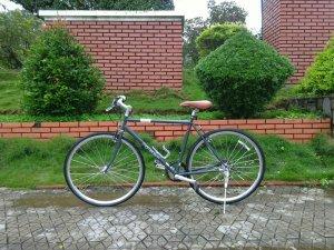 Xe đạp Momentim xám - Hàng bãi Nhật