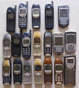Điện thoại cổ xưa các loại