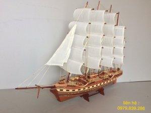 Thuyền gỗ mô hình đẹp