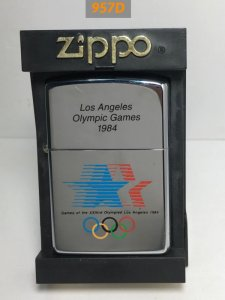 z.957D-hp chrome 1995 LOS ANGELES OLYMPIC GAMES 1984