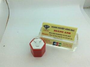 Nhẫn Nữ JST vàng trắng 14k Diamond , hàng của Mỹ sản xuất. H10095