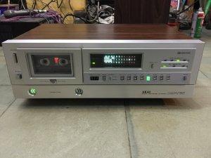 đầu băng cassette deck AKAI GX F60R Japan Xuất mỹ