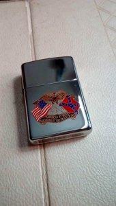 Zippo logo cờ nội chiến Mỹ