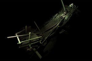 Đội 40 tàu cổ được tìm thấy ở vùng chết dưới Biển Đen