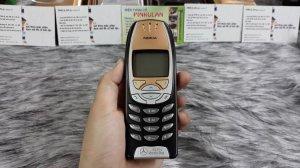 Nokia 6310i màu đen - Ms 3134 nguyên zin thay vỏ ngoài đẹp 97%