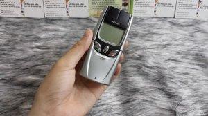 Nokia 8850 màu bạc zin đét nguyên bản chính hãng Nokia