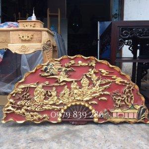 Quạt gỗ Bat Tiên