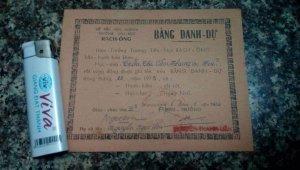 Bảng danh dự trường Rạch Ông trước 75