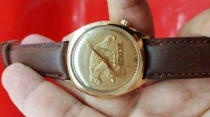 Đồng hồ Bulova Accutron bọc vàng 14k xưa chính hãng