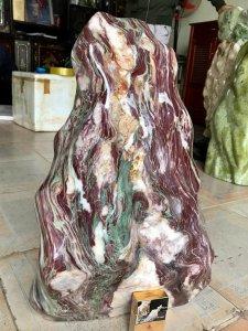 Cây đá Vân thổ cẩm Ngũ sắc, nặng 52kg