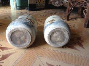 Giao luu đôi lọ lục bình dùng cho vua Lê lợi-Lê thái tổ