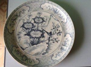 Giao lưu hai đĩa chu đậu dùng cho vua bảo đại xưa