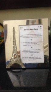 Khung ảnh mạ bạc Paris