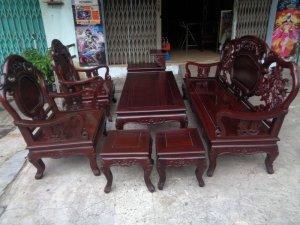 Bộ ghế gỗ Cẩm lai Việt xưa