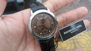 Raymond Weil trăng sao. Nhẩn Rolex 14k vàng hồng