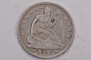 Xu Mỹ halff dollar 1853