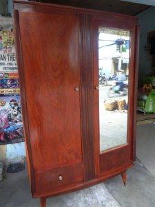 Tủ áo xưa gỗ gõ xưa