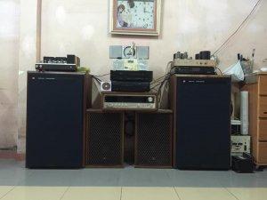 Ampli Đèn Tango KT88 - Ampli Đèn Jolida 6550 - Loa Jbl 4344