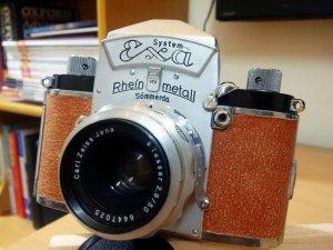 Bán máy ảnh cổ Đức RheinMetall