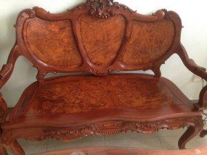 bàn ghê lois gỗ cẩm lai