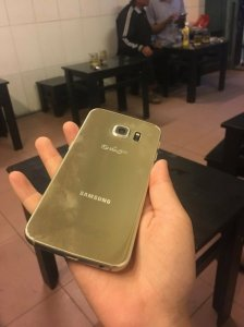 Samsung S6 Edge Gold 32 Gb