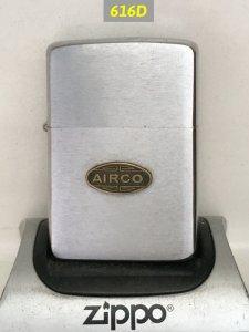 Z.616D-chữ xéo 1961  AIRCO (emblem) -tình trạng :cấn nhẹ góc đáy -mộc ngược :5 chấm , pat :2517191 -