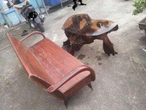 salon thùng 1 ghế dài