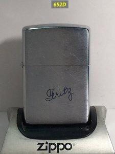 Z.652D-chữ xéo 1963 Chữ ký