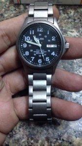 Đồng hồ ALBA solid titan