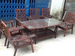 salon gỗ 7 món gỗ hương .hàng phan văn nhị xưa