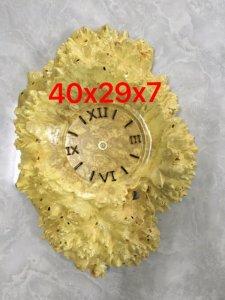 E bán đồng hồ nu nghiến tuyệt đẹp cao 40cm,ngang 29cm