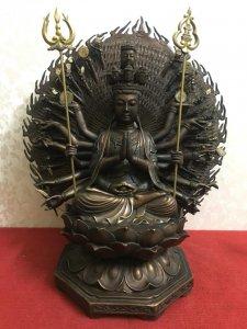 Siêu phẩm-Siêu khủng: Tượng Phật Thiên Thủ Thiên Nhãn rất đẹp và độc đáo, thần thái và có hồn. Đường