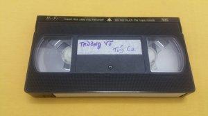 Băng Video VHS Trường Vũ (Chủ đề - Túy ca)