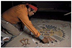 Khám phá nghệ thuật tranh cát