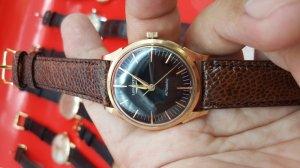 Đồng hồ Longines vỏ vàng hồng 18k xưa mặt bao công xưa chính hãng thụy sỹ