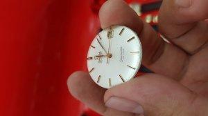 Omega seamaster deville vỏ vàng hồng 18k xưa chính hãng