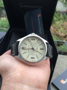 đồng hồ hamilton khaki aviation automatic h765650 swiss mới 98%