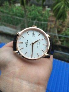 Đồng hồ edox Les Vauberts 80081-37R-AIR swiss mới 100%