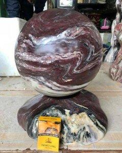 Bi cầu đá thiên nhiên Việt Nam đk 29cm
