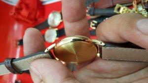 Đồng hồ omega vỏ vàng khối 18k kim rốn xưa chính hãng thụy sỹ